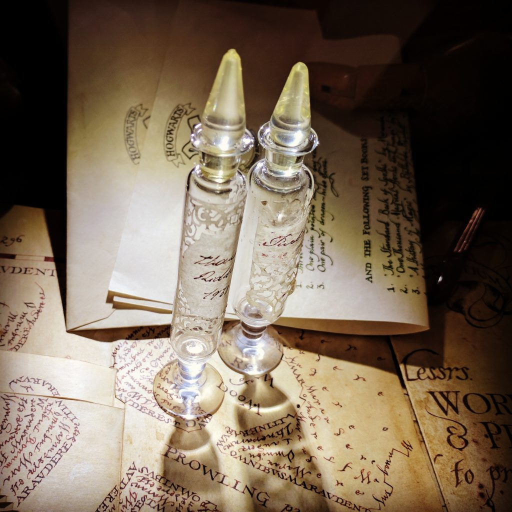 Harry Potter Potion Vials, Mina Lima Exhibition