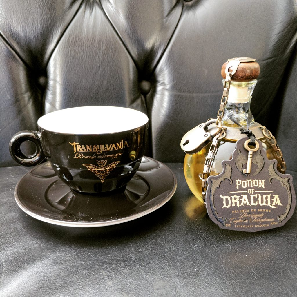 Dracula's Potion and Transylvania TeaCup