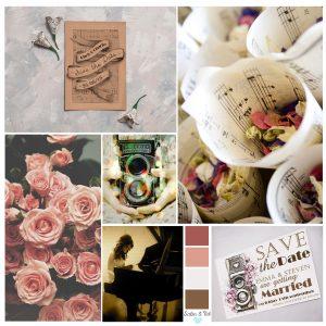 Vintage Roses Camera Moodboard From Satin and Tat