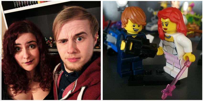 James and Me, Lego James and Me