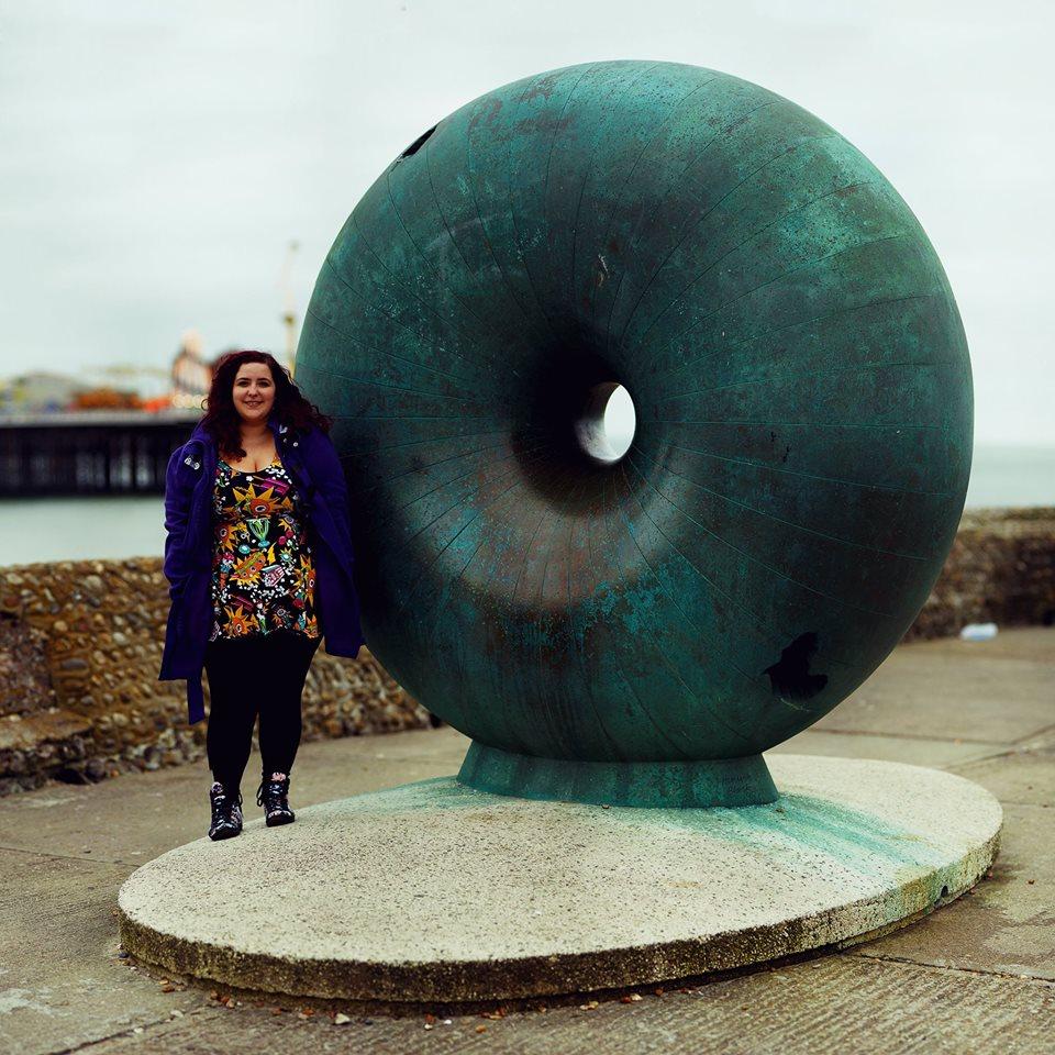 Visiting Brighton SeaFront Brighton Doughnut