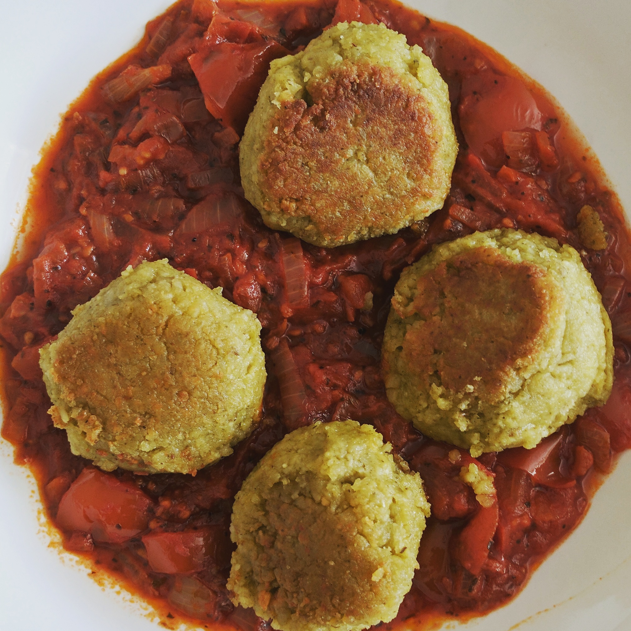 Vegan Recipe Pesto Dumplings