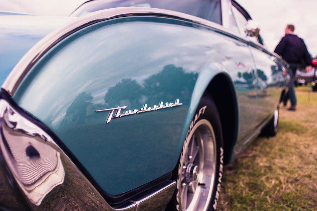 Goodwood Revival Thunderbird