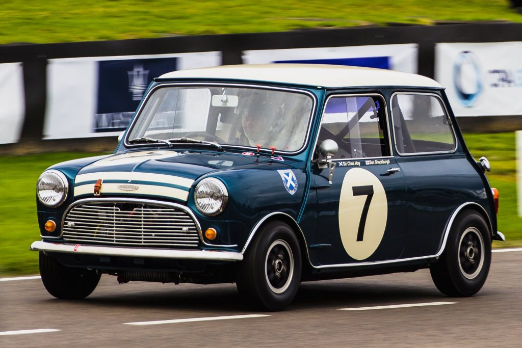 Goodwood Revival Mini