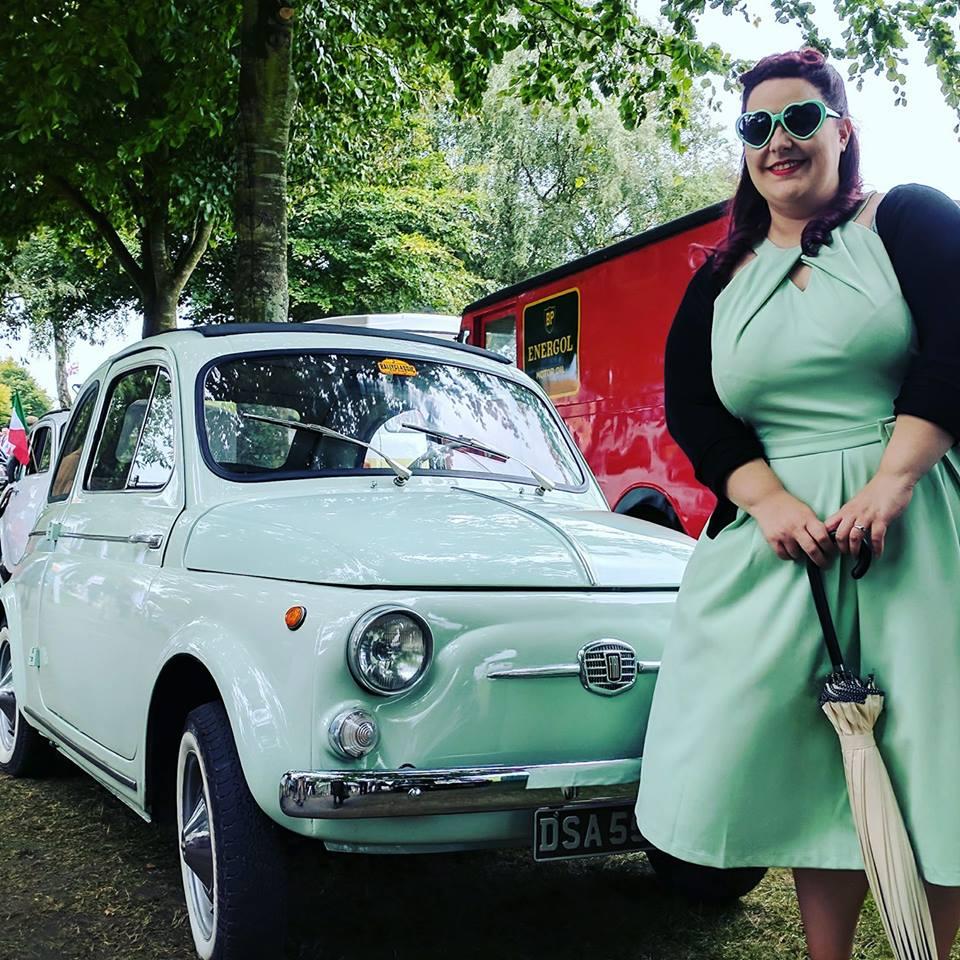 Mint Vintage Fiat 500 Goodwood Revival