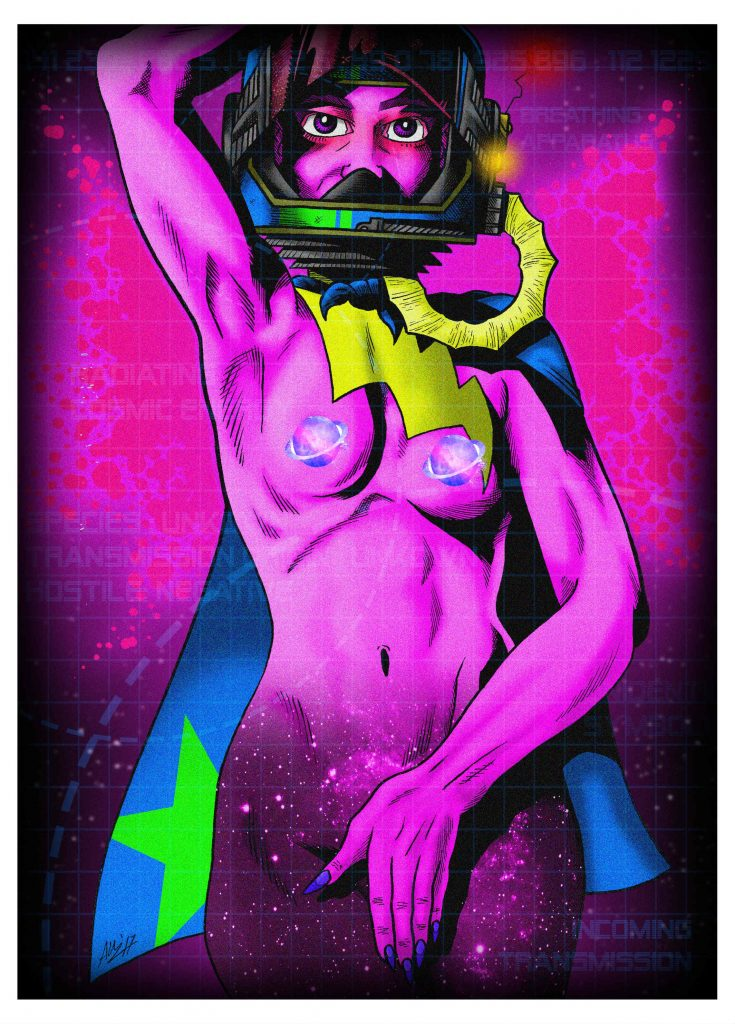 Angus Medford Art - Cosmic Girl - Feb '17
