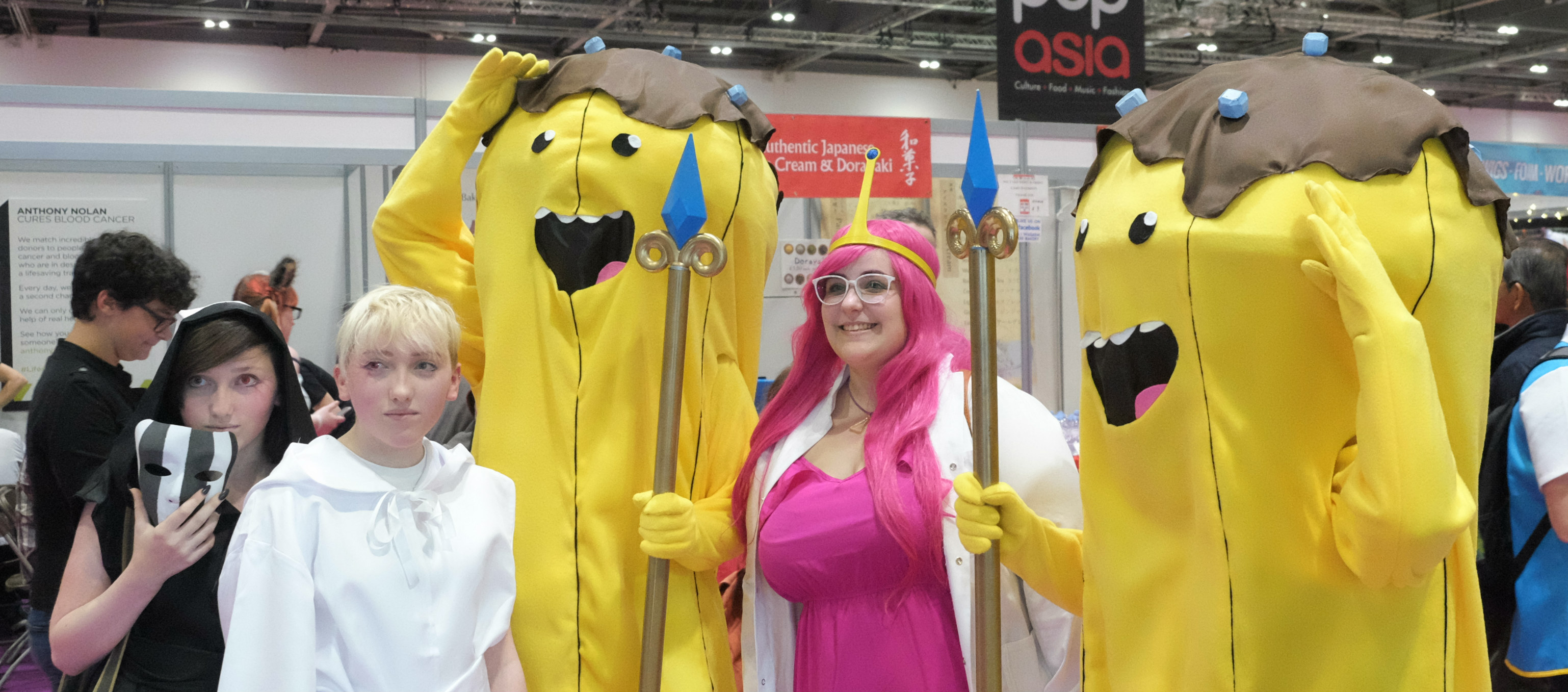 MCM Comic Con 2017 Princess Bubblegum Banana Guards