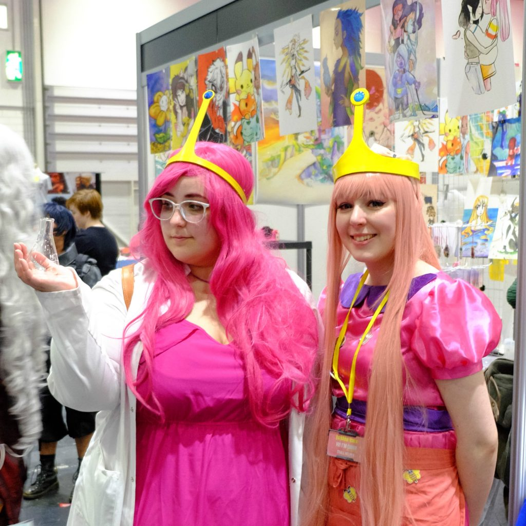 MCM Comic Con 2017 Princess Bubblegums
