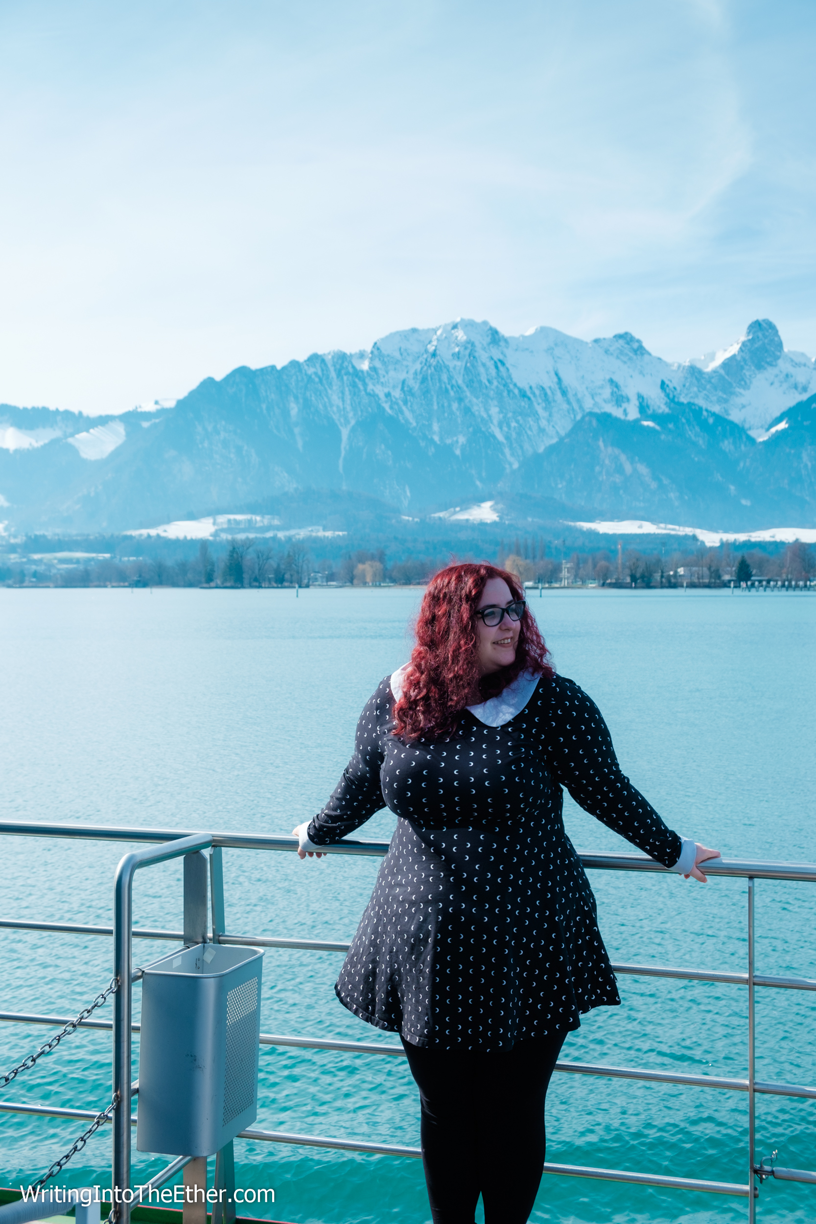 Switzerland Travel Post Lake Thun
