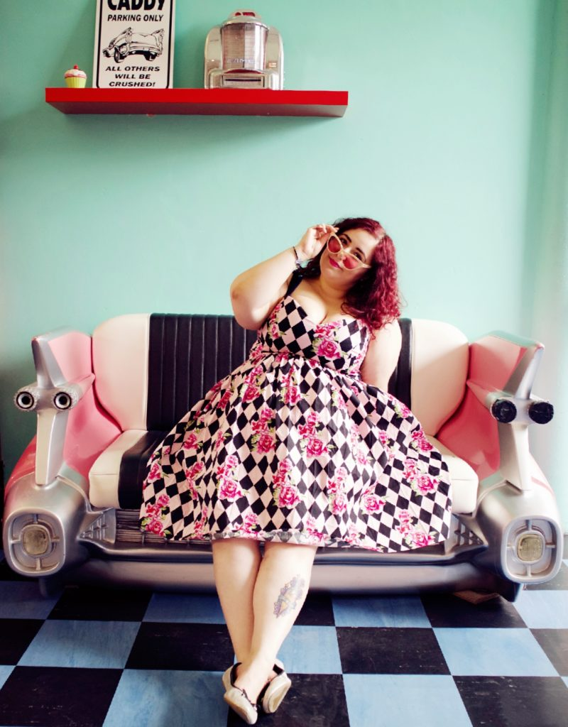 Le Keux Vintage Salon 1950s Photoshoot
