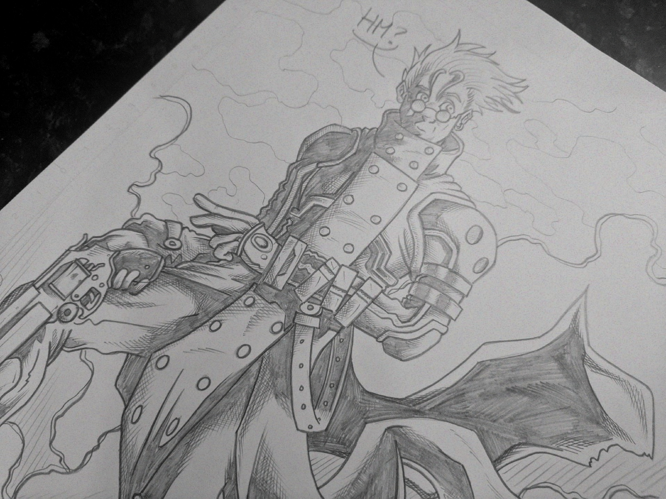 Vash the Stampede Anime Angus Medford