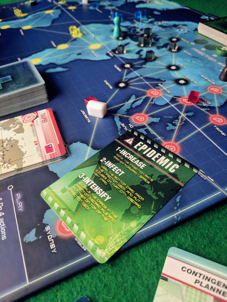 Coventry Board Game Night Pandemic