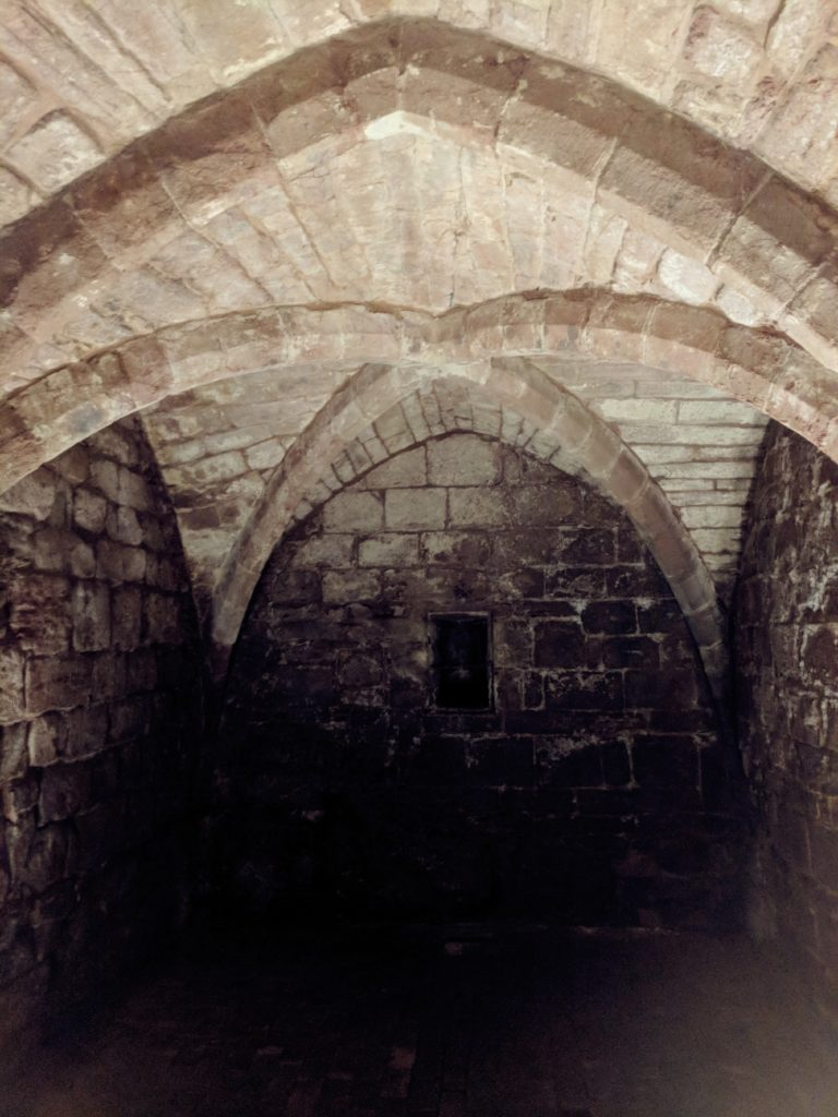 Medieval Undercroft historic coventry