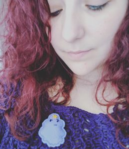 Lumpy Space Princess Brooch by DaisyBell Emporium