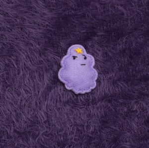 Handmade Lumpy Space Princess Brooch