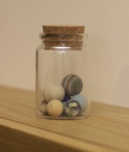 Solar system in a Bottle by Little Planet Factory