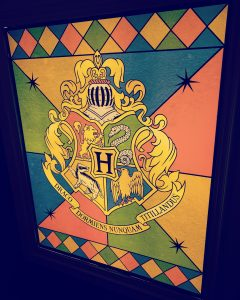 Hogwarts Crest Window
