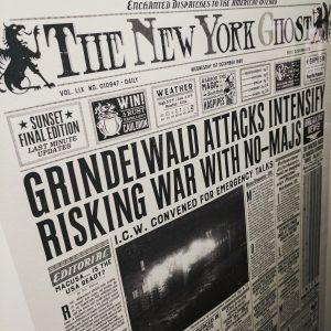 Grindelwald Harry Potter Newspaper