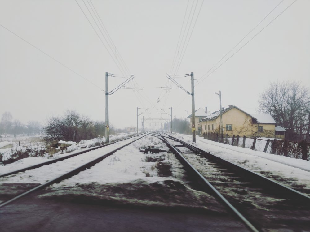 Visiting Romania - Railway Tracks
