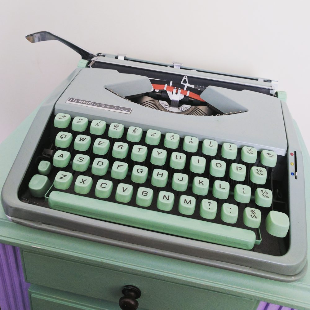 Typewriter New Tech vs Old Spec