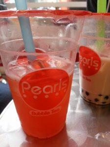 Pearls Bubble Tea Visiting Brighton