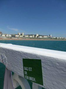Das ist OK fur mich Brighton Pier