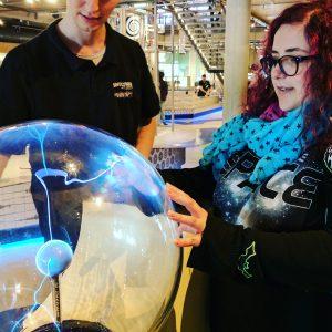 NEMO science museum blogging successes