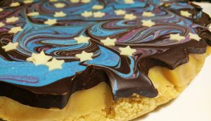 Space themed Party Shortbread