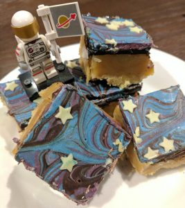 Space Themed Party Galaxy Shortbread