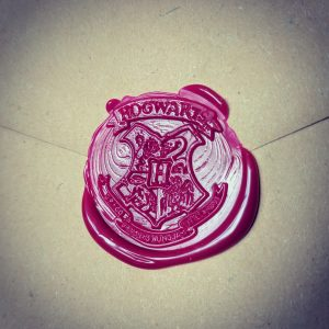 Homemade Hogwarts Letters Harry Potter Party Invites Hogwarts Stamp