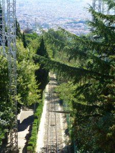 Barcelona Train Tracks