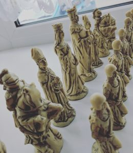 Wizards Chess Pieces