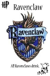 Ravenclaw Harry Potter Drinking Game