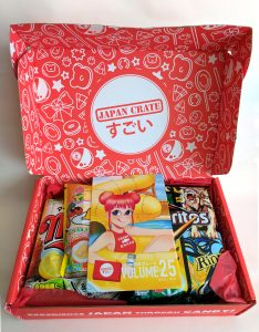 Japan Crate Unboxing
