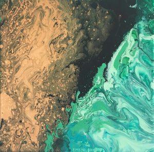 Galactic Sea Emese Baksay Artist Review