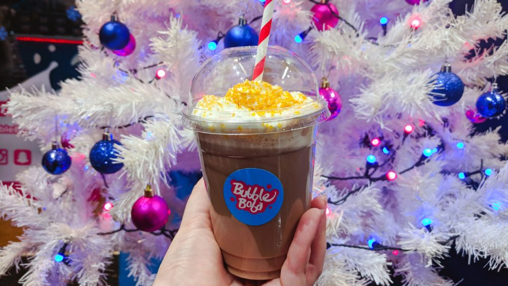 Getting into the Christmas Spirit with Bubble Boba UK *