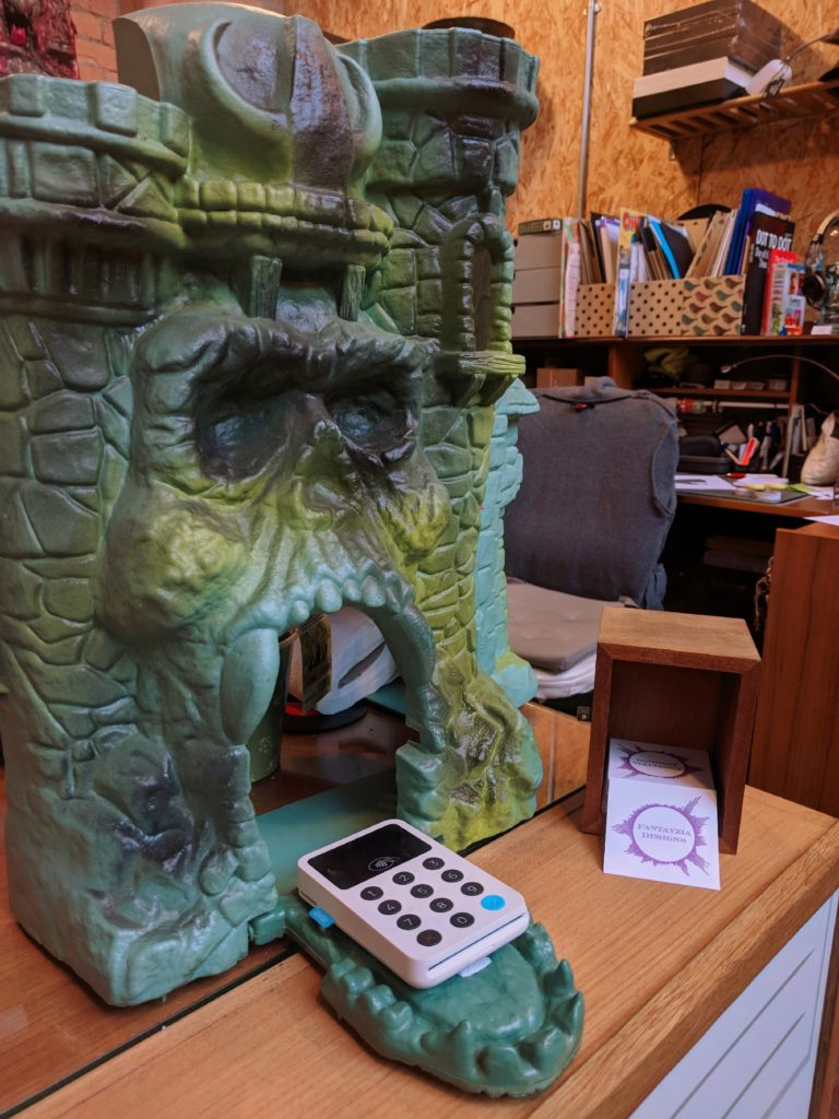 Castle Grayskull Toy Fantayzia Designs Coventry FarGo Village Geeky Places to go in Coventry