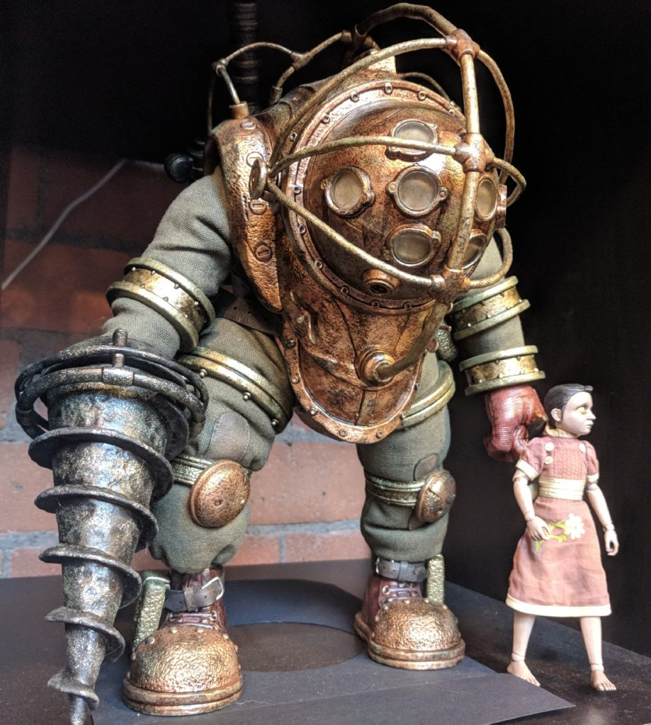 Big Daddy Little Sister Figurine For Sale Fantayzia Designs Coventry FarGo Village Geeky Places to go in Coventry
