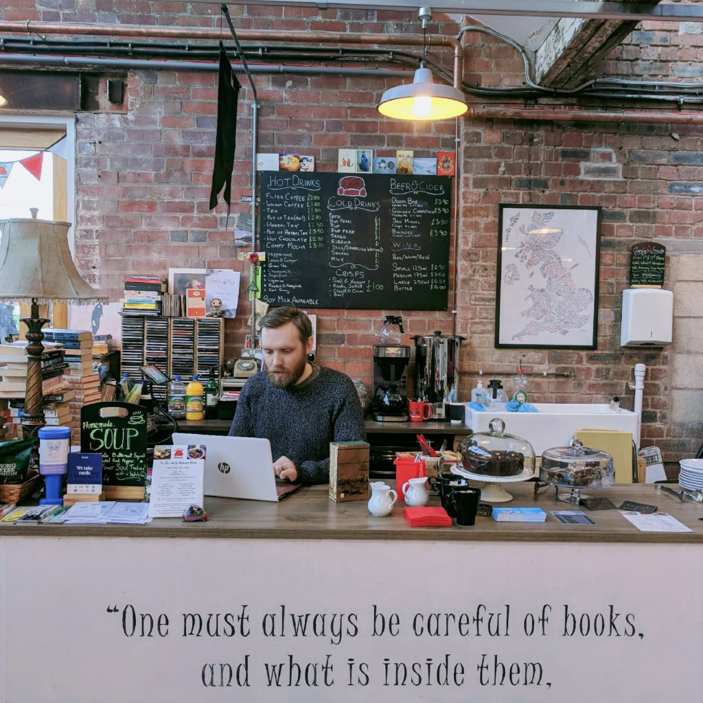 The Big Comfy Bookshop Michael McEntee Independent BookShop Owner