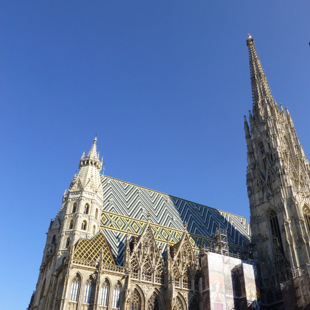 Free Things to Do in Vienna Blog St Stephen's Cathedral WritingIntoTheEther Coventry Blogger
