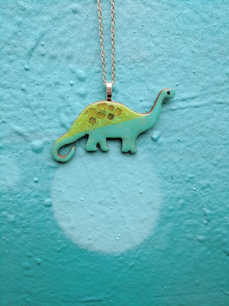 Diplodocus Necklace Brachiosaurus Necklace