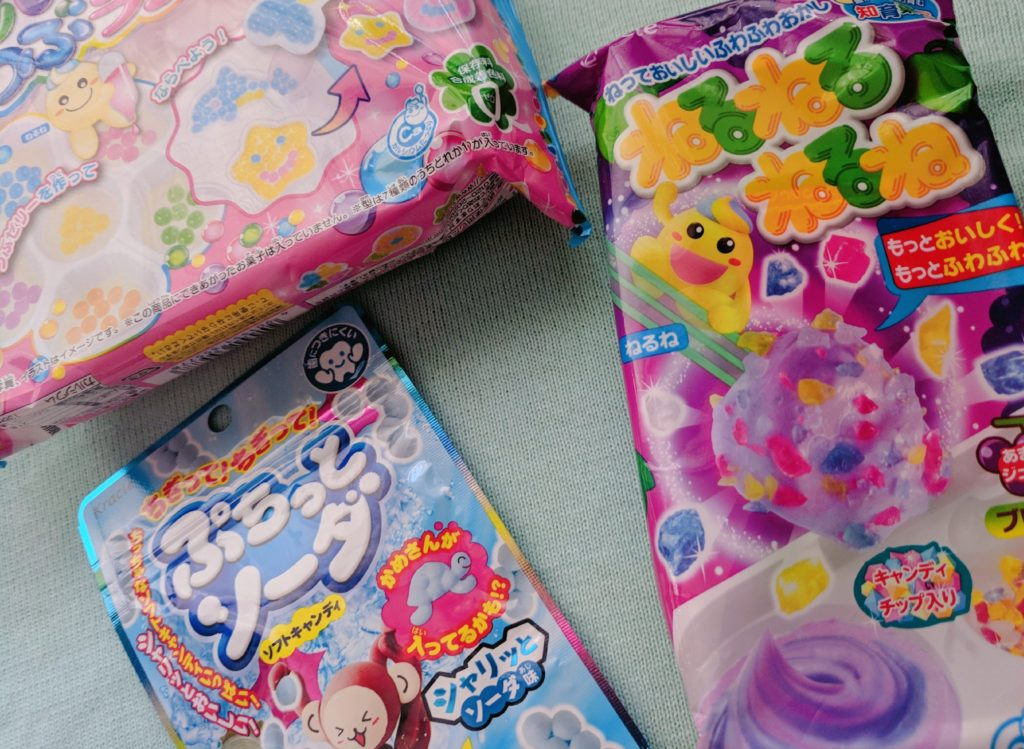 Tofu Cute Review Japanese Snacks Make your own candy kits