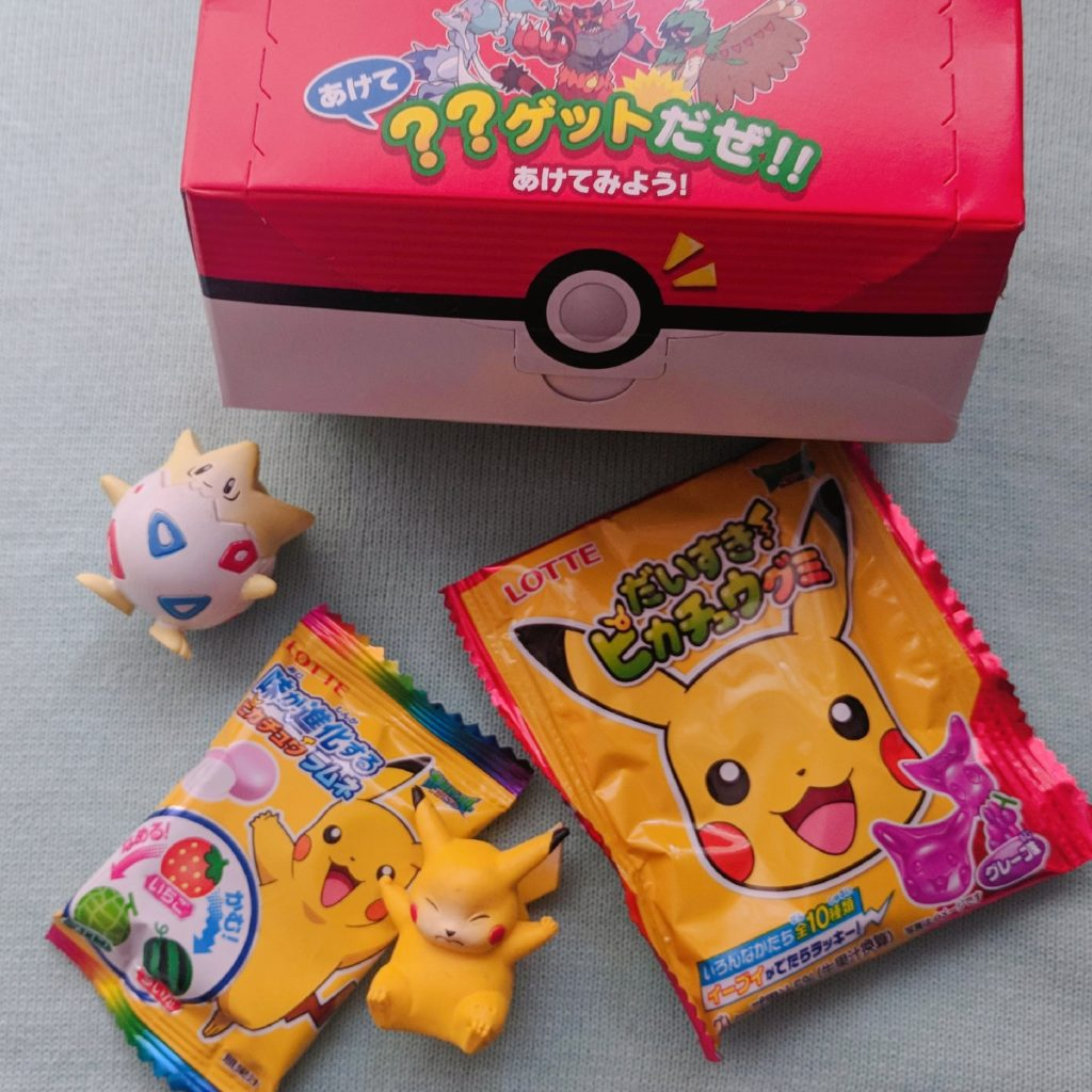 Tofu Cute Review Japanese Snacks Pokemon Themed Snacks Pokemon Candy