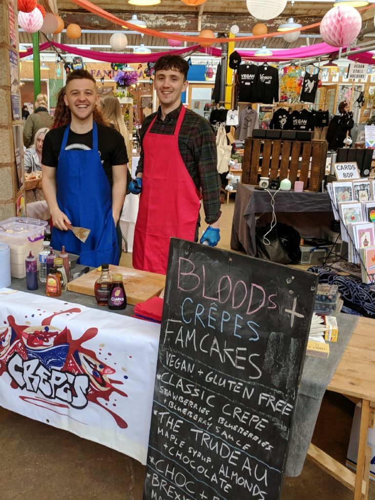 FarGo Village Vegan Festival Coventry Blogger Bloods and Crepes