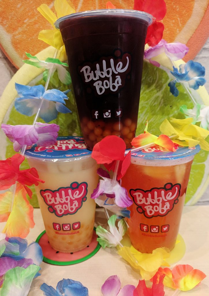 Bubble Tea Shop Coventry Mocktails