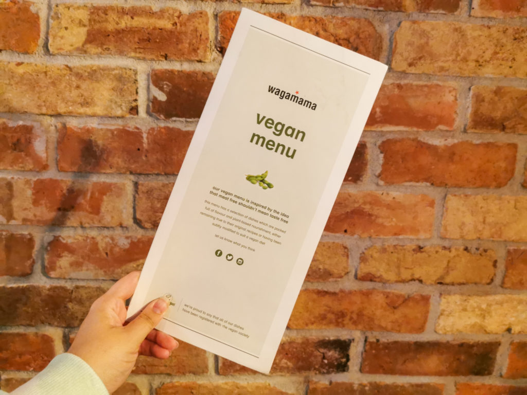 Wagamama Vegan Menu Review