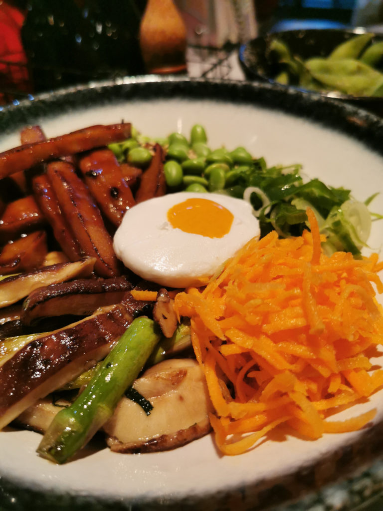Wagamama Vegan Egg Avant Garden