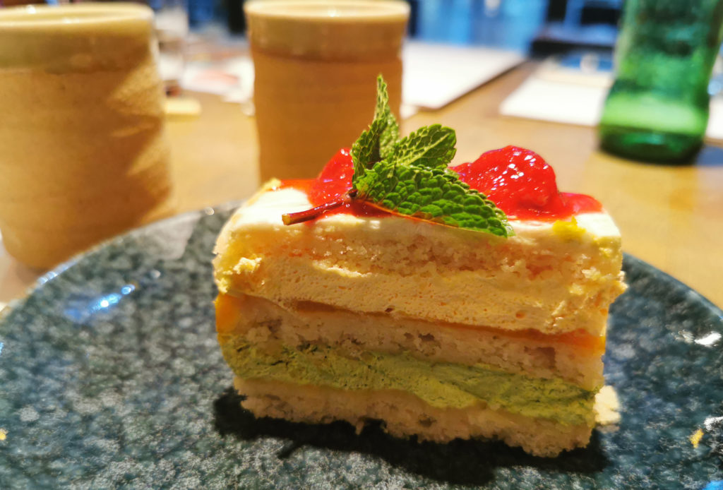 Wagamama Vegan Cake