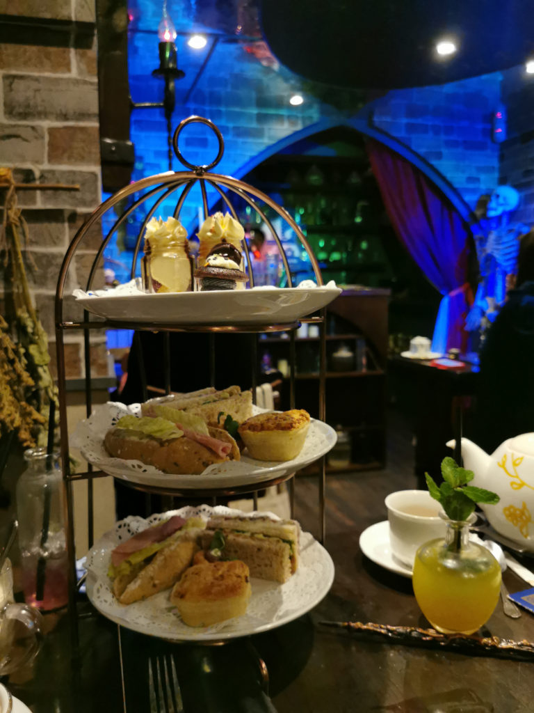 Cutter and Squidge Potion Room Afternoon Tea