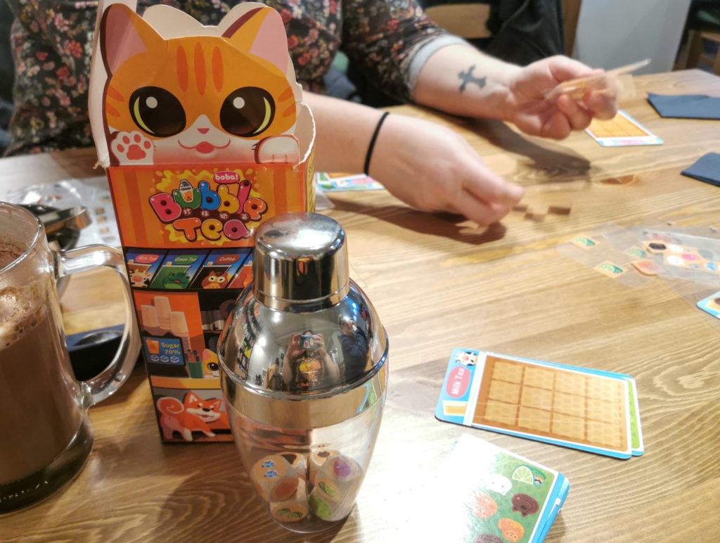 Bubble Tea Board Game